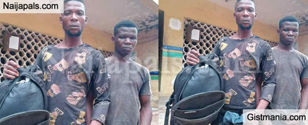 Two Friends Who Killed A Bike Man, Sold His Bike For N120k Fall Out While Sharing The Loot in Ogun