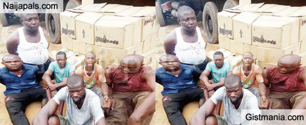 Two Nigerian Siblings With Other Robbery Gang Arrested After Breaking Into Coca-cola Warehouse