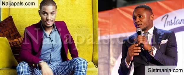 Ubi Franklin and Alex Ekubo Have a Tearup Over Online Motivational Quote On Invictus Obi