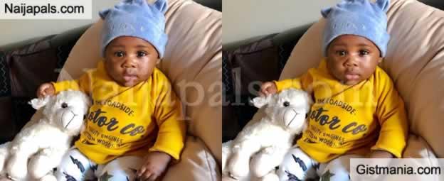 Ubi Franklin Shares Adorable Photos Of His Son, Shiloh