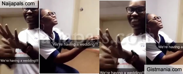 Ubi Franklin Shares Photos of His Female Staff, Nicole Who Got Engaged By A Lady In His Abuja Office