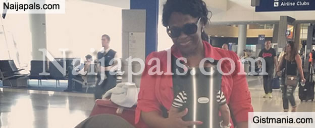 Star Actress, Uche Jombo Returns To Nigerian After Living In The USA For 2 Years