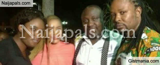 Divorced Actress, Uche Ogbodo Spotted Partying With Rochas Okorochas After Election Victory