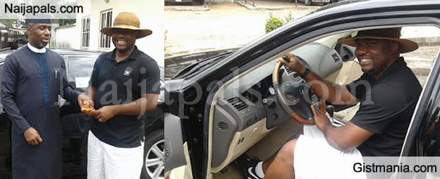 Imo State Chief of Staff, Ugwumba Uche Gifts His Ex-Schoolmate New Lexus Car For Being Loyal (PICS)