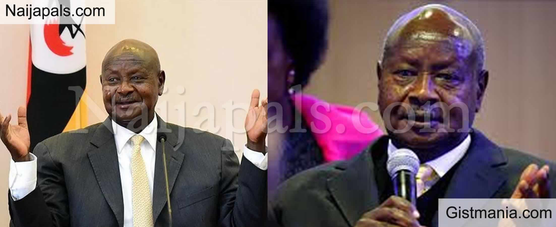 Strong Warning From Ugandan President Against Oral Sex, Says The Mouth Is For Eating (Video)
