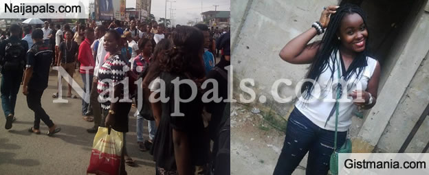 R.I.P : Uniport Students Protest Over Death Of Student KEL At UPTH
