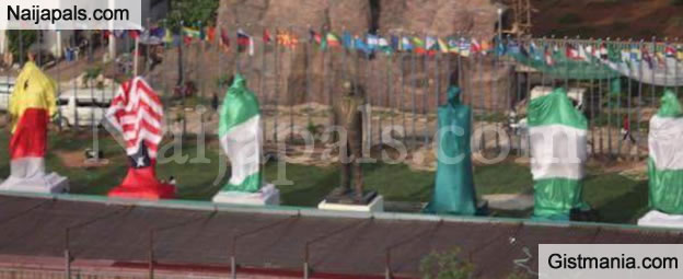 Governor Okorocha Set To Unveil More Statues Of Famous Individuals Next to Zuma