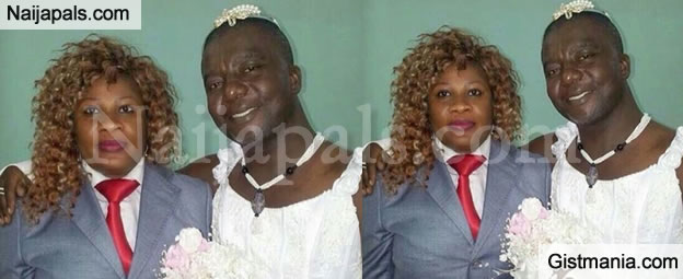 CREATIVE OR NOT? What Do You Think Of This Drunk In Love Couple's Wedding Picture