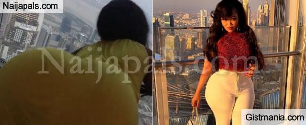 Watch Bootylicious Video Vixen, Vera Sidika Twerking For Her Nigerian Boyfriend