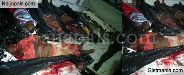 Shocking Photos Of The Victims Of The Abuja Bomb Blast Yesterday's Night (Photos)