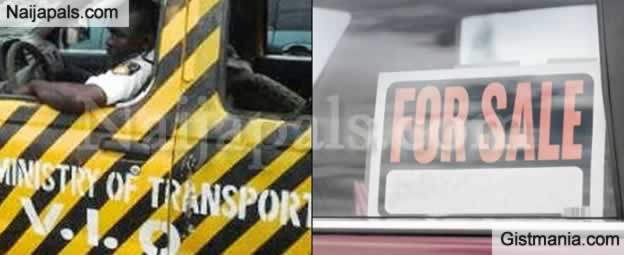 `Car For Sale' Sign On Moving Vehicles Is Illegal – VIO