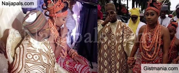 Photos From Esama Of Benin, Chief G. Igbinedion's Daughter, Orobosa's Traditional Wedding