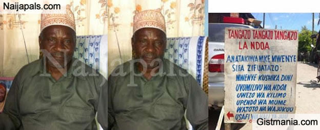 75-Year Old Man Who Just Lost His Wife Advertises For Wife