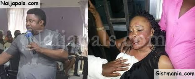 DRAMA! Pastor's Wife Storms Church In Akwa-Ibom To Accuse Him Of Impregnating Church Member