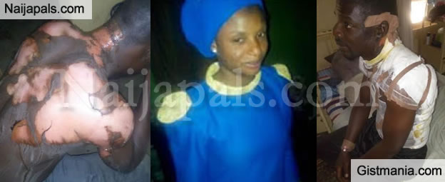 OMG! Angry Pours Boiling Water On Husband For Marrying A Second Wife In Jos (Photos)