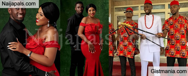 VIDEO: Super Eagles Star, Wilfred Ndidi Finally Ties The Knot With Girlfriend Dinma