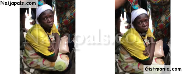 Lady Tries Killing Her Newborn Baby After Delivery Inside A Toilet In Lagos (Photo + Video)