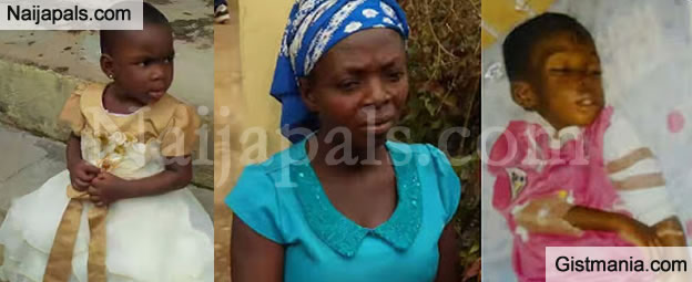 OMG! Woman Cages 4yrs Old Foster Child In The Bush For 5 Months Because She Thinks She's HIV+ - Photos