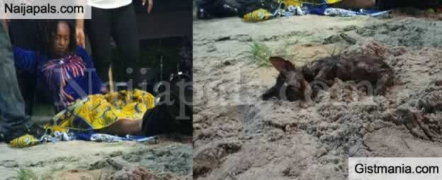 SHOCKING!!! Pregnant Woman Allegedly Gives Birth To A Cat During Church Deliverance Service (Photo)