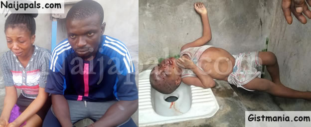 Wicked Woman Kills Her Co-tenant's 2-Year-Old Son In Lagos (Photos)