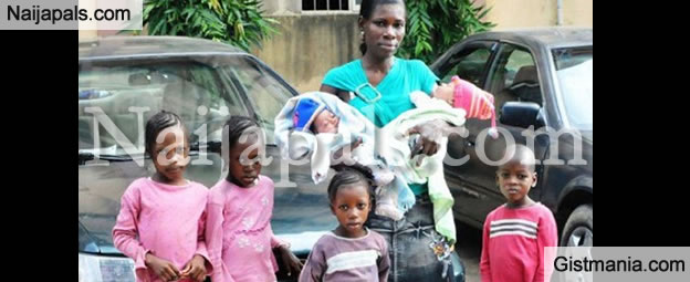 Woman Left By Her Igbo Husband For Having A Set Of Twins The 3rd Time Pleads For Help - Photo