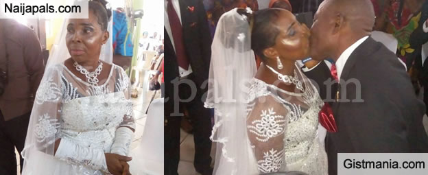 Wedding Photos From 50-yr-old Nigerian Woman Who Got Married For The First Time In PH, Rivers State - PHOTOS