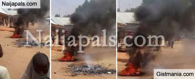 Woman Accused Of Witchcraft Burnt To Death In Kebbi - Photos