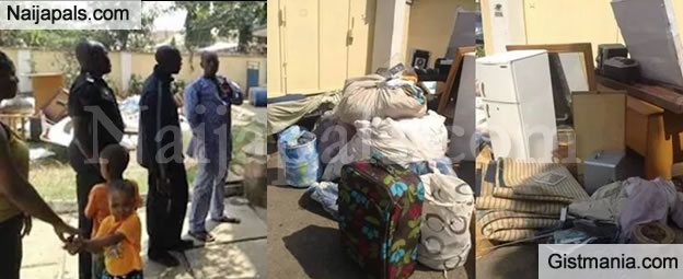 Woman Cries Out After Her Abusive Husband Threw Her Out Of The House With The Kids & Properties