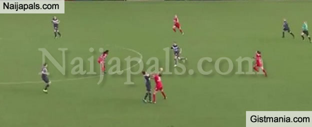 WTF! Watch As Female Footballers Fight Dirty on the Pitch During a Women's League Match
