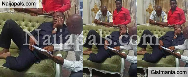PHOTO: What Is Not Wrong With This Photo? (Gov. Amaechi's Siesta Edition)