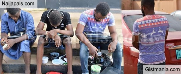 Three Yahoo Plus Boys Arrested With Charms, Exotic Cars Recovered In Ibadan (Photos)