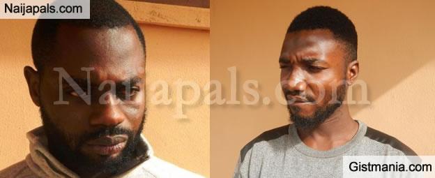"EFCC Operatives Arrest Two ""Yahoo Yahoo"" Boys In Ibadan (PHOTO)"