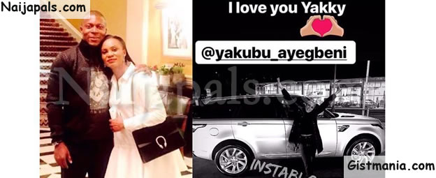 YAK! Ex-Super Eagles' Striker, Yakubu Aiyegbeni Buys Range Rover For His Wife As Christmas Gift (Photo)