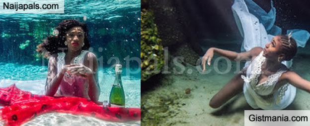 WOW! Checkout These Lovely Pictures Taken Underwater In Yankari Games Reserves, Bauchi