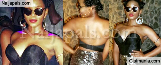 Yemi Alade Balling Hard To Celebrate Her Best Female In Africa Award At MAMAs