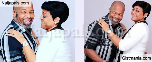 Actor Yemi Solade Shares Loved Up Photos With His Pretty Wife To Celebrate Wedding Anniversary