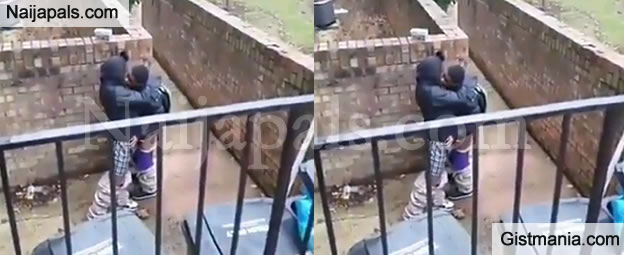 SERIOUSLY: Two Young Boys Caught Pants Down Making Out (Video)