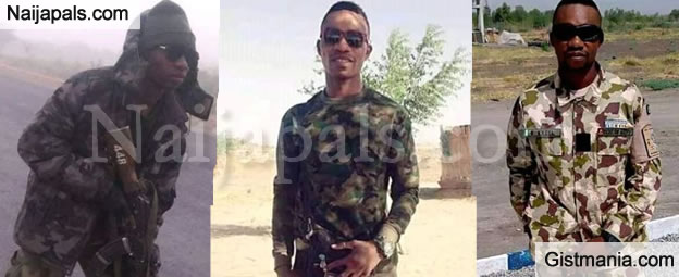 Heart Breaking Photos of a Young Nigerian Soldier Killed By Boko Haram Terrorists