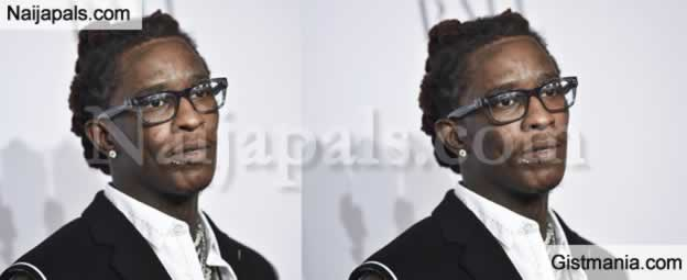 American Rapper, Young Thug Acquires A 90 million Naira New Diamond Crested Snake Neck-Piece