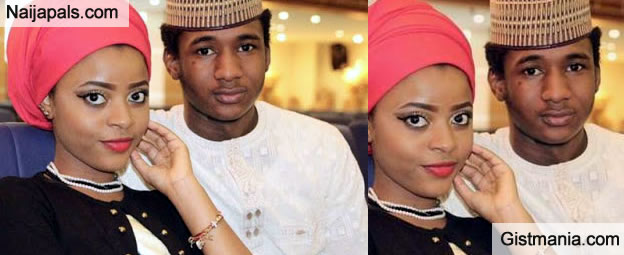 BAD MARKET TO LADIES: Check Out Photo Of President Buhari's Only Son Yusuf Buhari And His Girlfriend