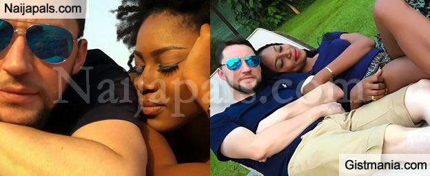 Yvonne Nelson's Baby Father, Jamie Roberts Reacts To Her #FathersDay Message