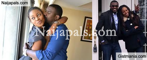 John Dumelo Gets Hold Of Yvonne Nelson's Boobs