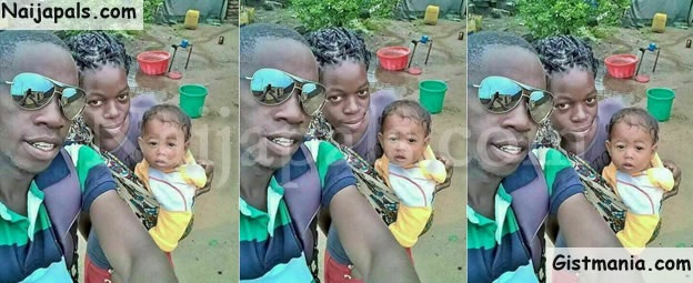 WTF! Taxi Driver Welcomes 'Chinese' Baby With Wife Who Works As A Maid In A Chinese Company (Photo)
