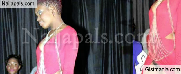 SHOCKER! Zimbabwean Beauty Pageant Contestants Forced To Catwalk Without Wearing Pants - Photo